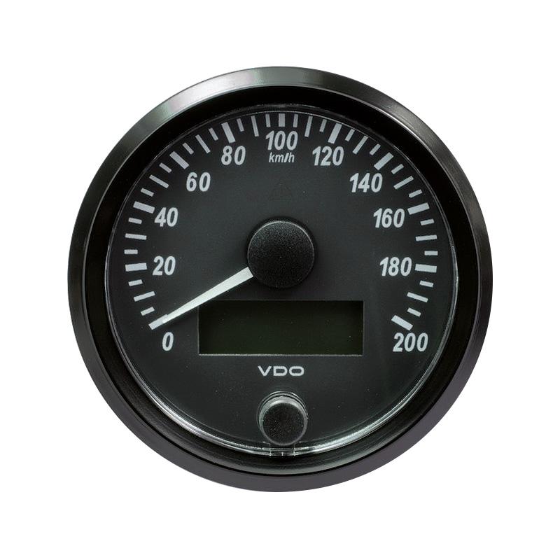 VDO SingleViu Tachometer, Einbaudurchmesser 80 mm