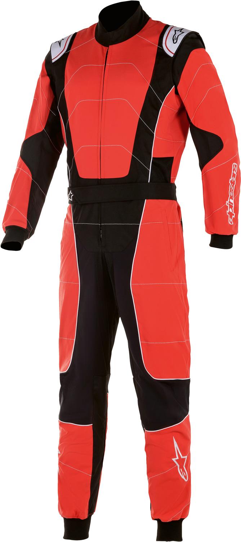 Alpinestars Kartoverall KMX3 v2, rot/schwarz