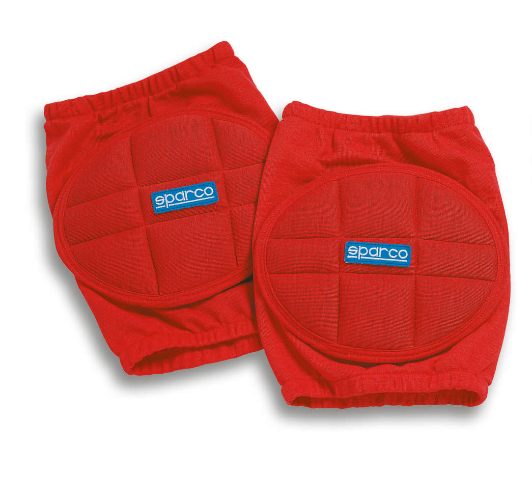 Sparco Nomex Knieschoner, rot