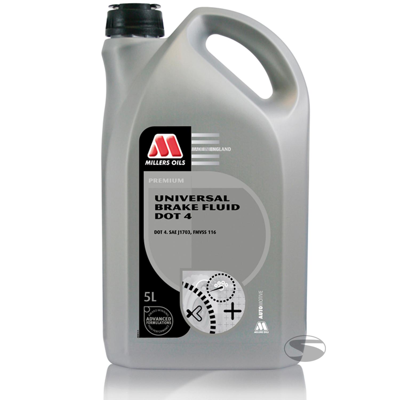 Millers Oils Universal Brake Fluid Dot4, 5 Liter