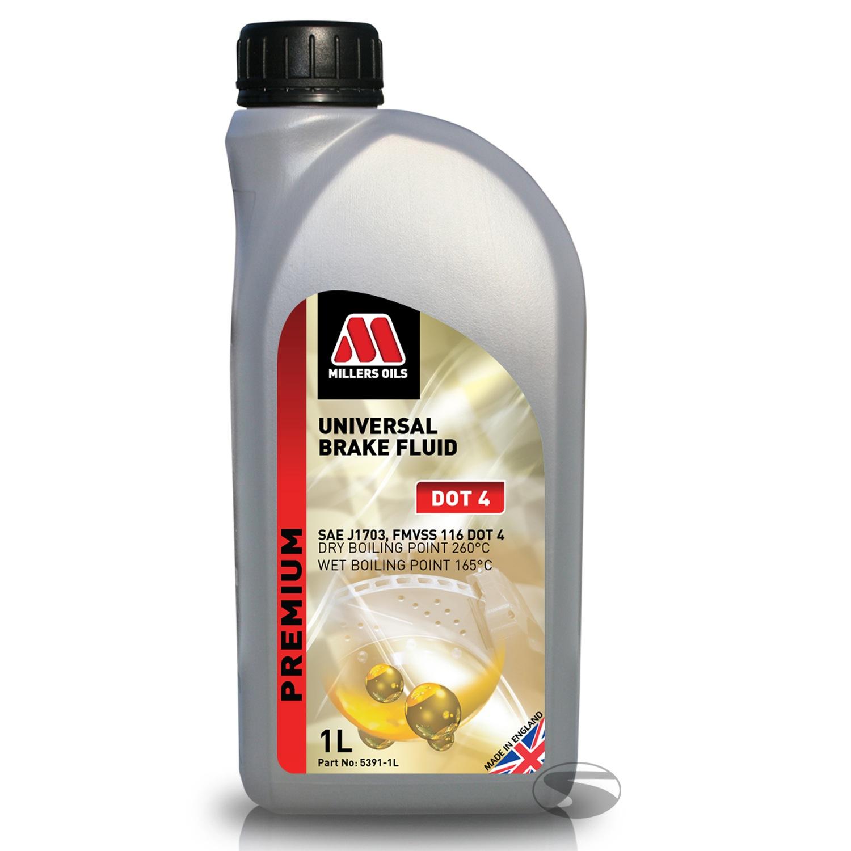 Millers Oils Universal Brake Fluid Dot 4, 1 Liter