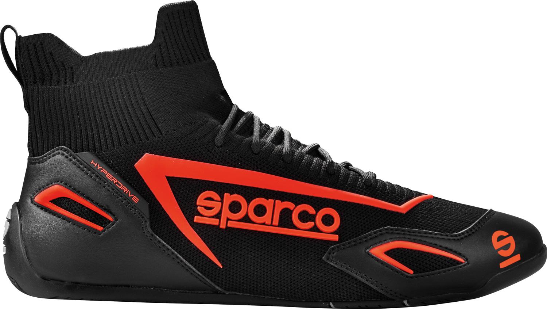 Sparco Gaming-Fahrerschuh Hyperdrive, schwarz/rot