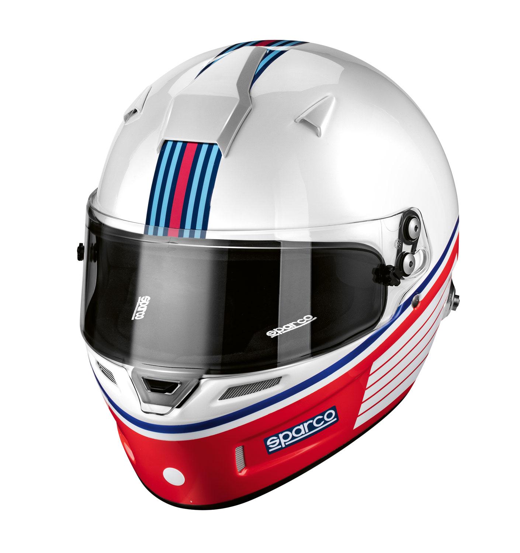 Sparco Helm Martini Racing (Streifen-Design)
