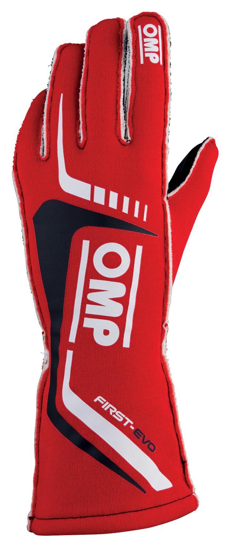 OMP Handschuh First Evo, rot