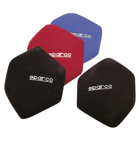 Sparco Rückenpolster, seitlich, schwarz, rot, blau (2043)