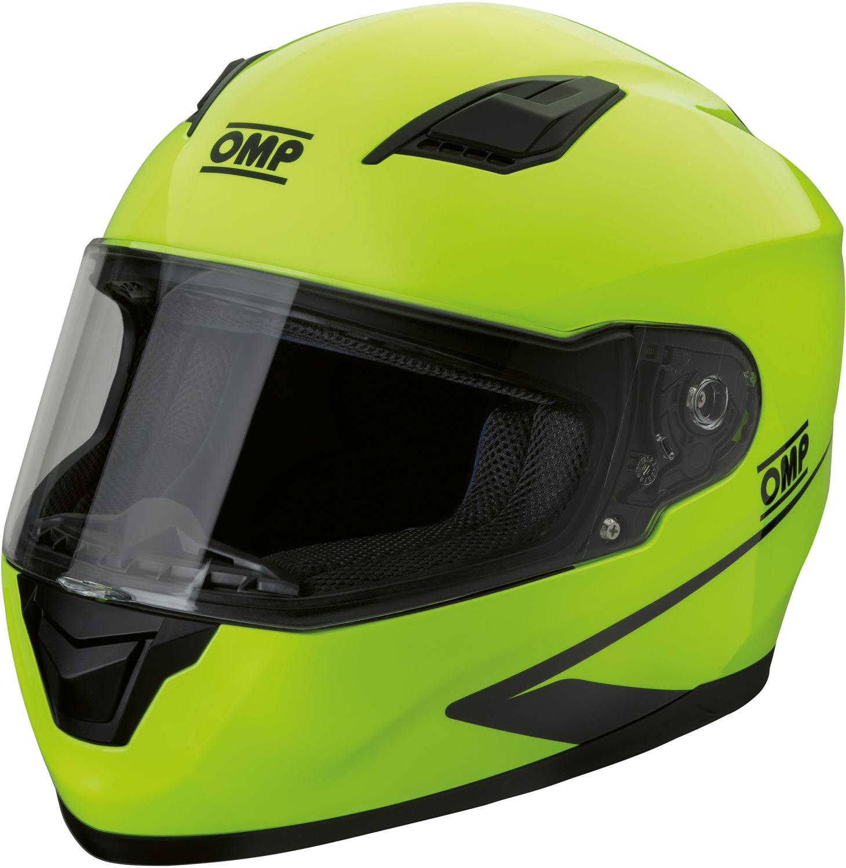 OMP Helm Circuit Evo, gelb fluo