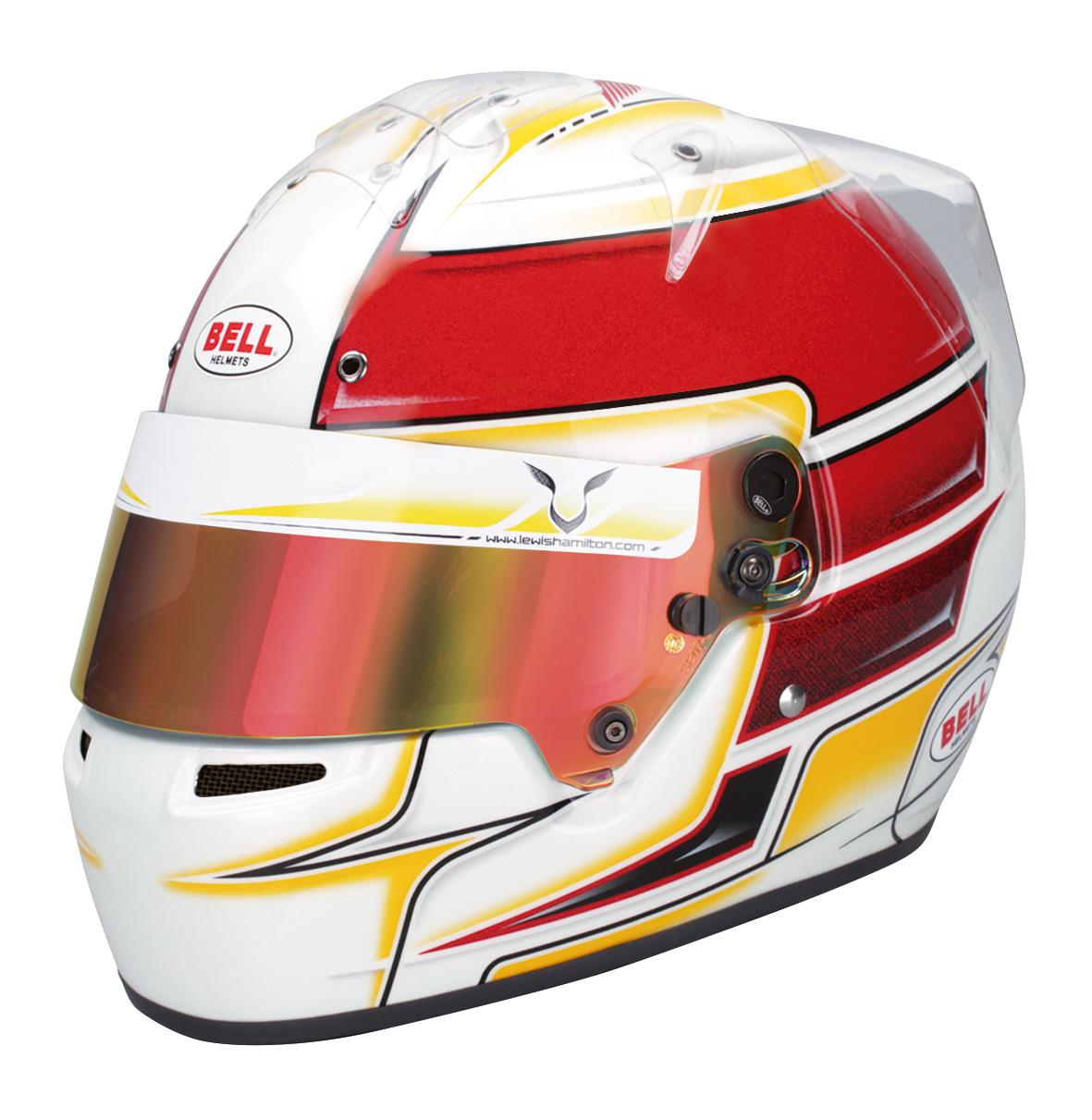 BELL Helm KC7 CMR Lewis Hamilton Edition