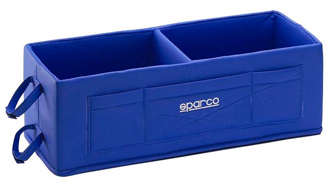 Sparco Helmbox, blau