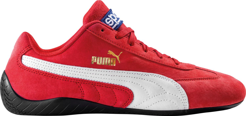 Sparco Sneaker Puma SpeedCat, rot/weiß