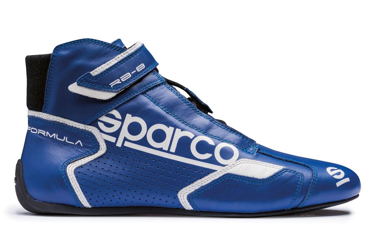 Sparco Fahrerschuh Formula RB-8.1, blau/weiß