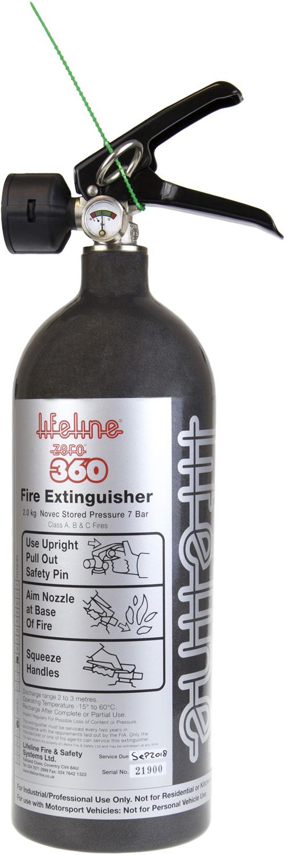 Lifeline Handlöscher Zero 360