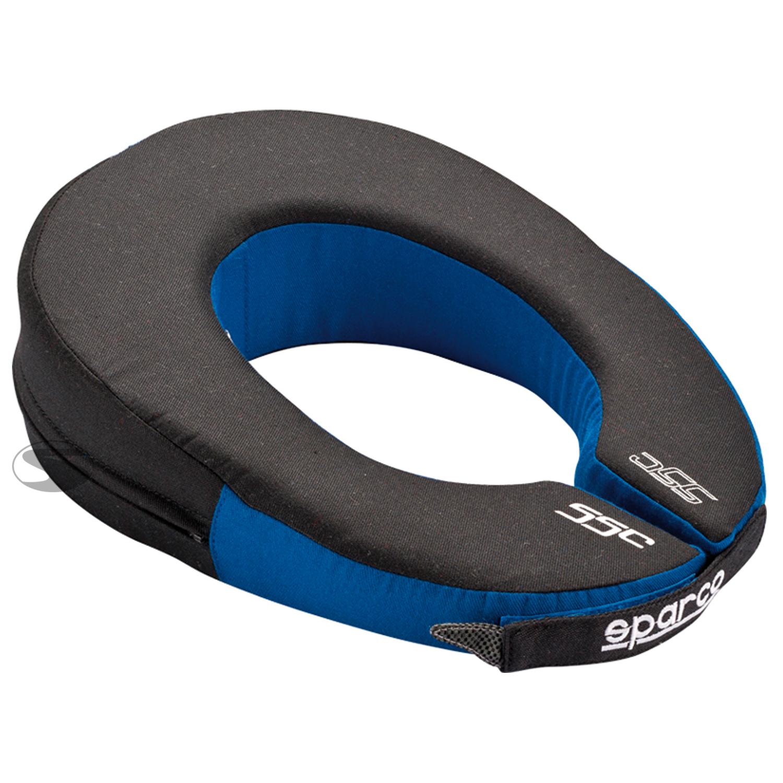 Sparco Nackenstütze Ovale, schwarz/blau