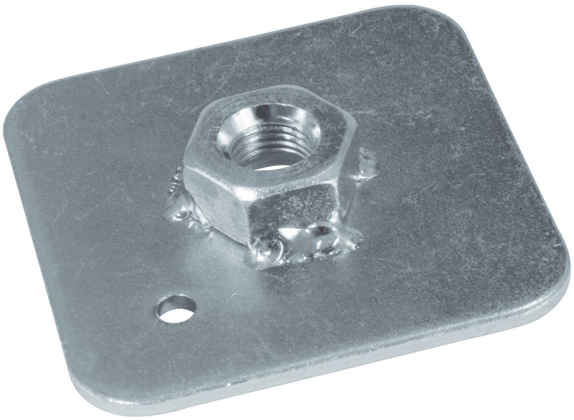 Sandtler Stahl-Verstärkungsplatte