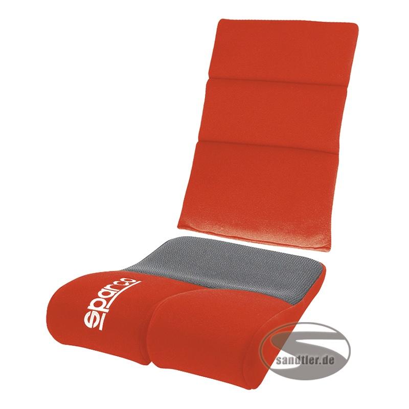 Sparco Sitz-Rückenpolster Rev, rot (1047RR)