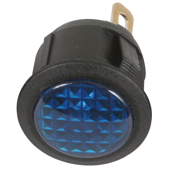 Sandtler LED-Warnleuchten 12V, blau