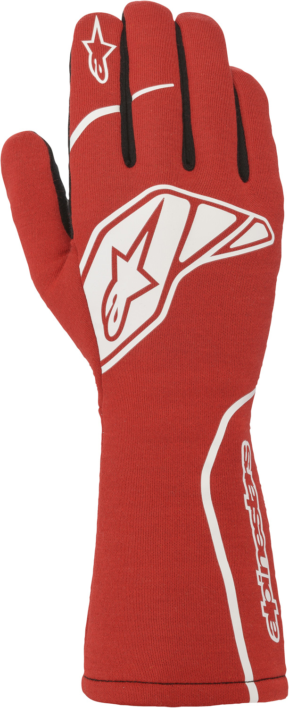 Alpinestars Handschuh Tech 1 Start v2, rot/weiß