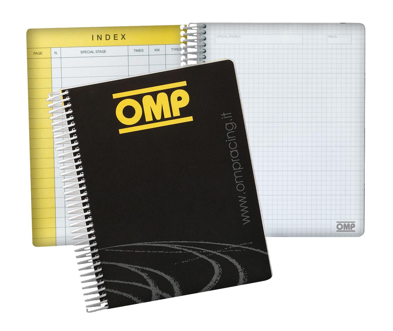 OMP Co Drivers Pad, 17,3 x 22 cm