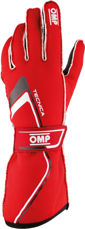 OMP Handschuh Tecnica, rot