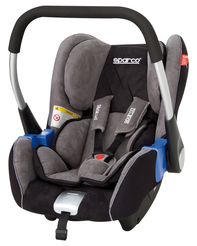 Sparco Kindersitz F300-K, schwarz/grau (2094)