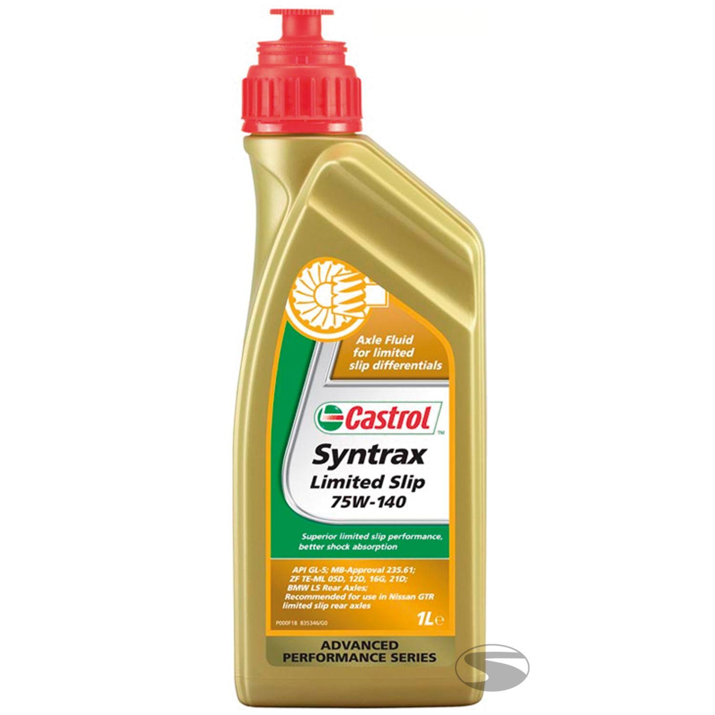 Castrol Getriebeöl Syntrax Limited Slip 75W-140, 1 Liter