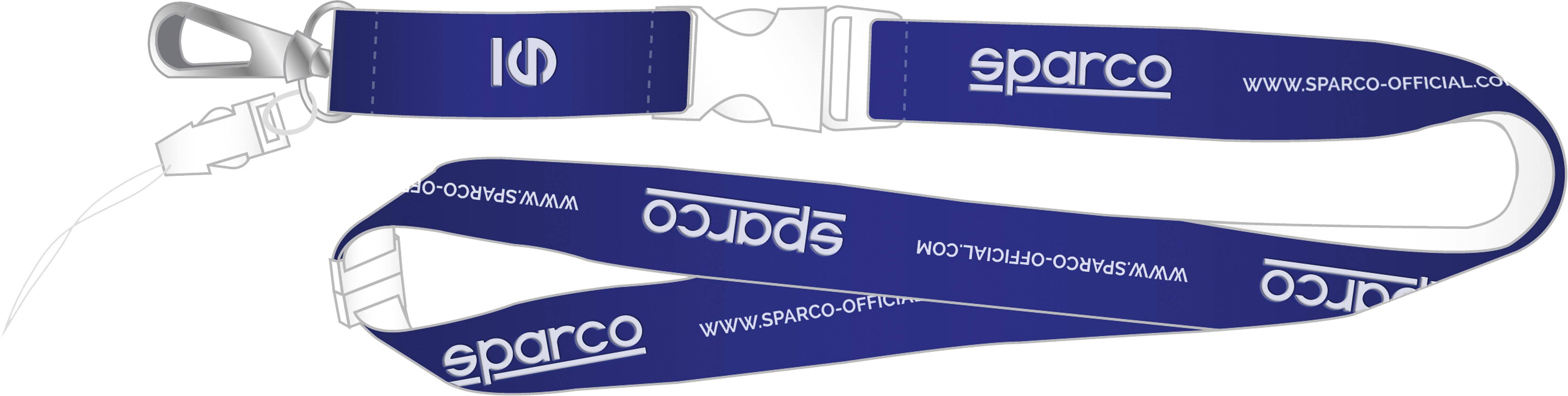 Sparco Badgeholder, blau