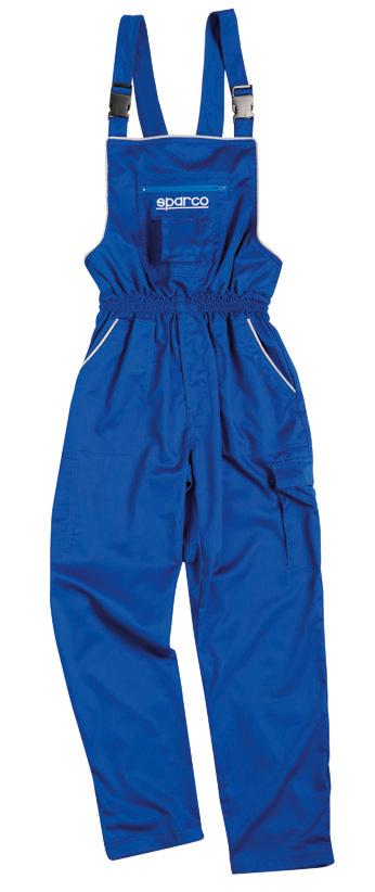 Sparco Mechaniker-Latzhose, blau