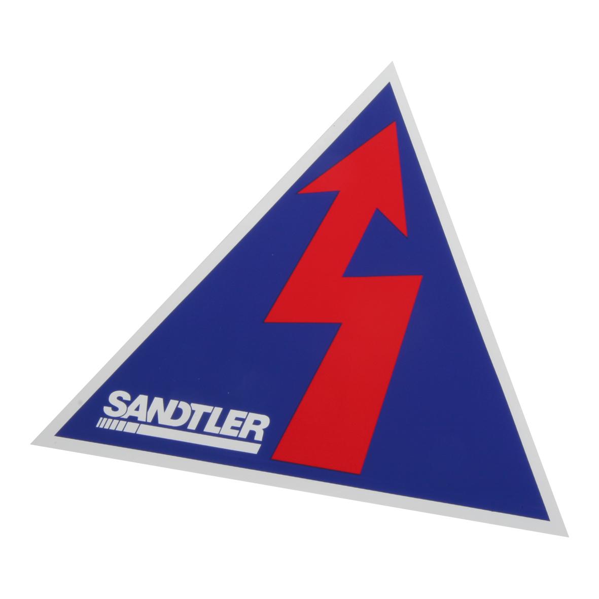Sandtler Blitz-Aufkleber