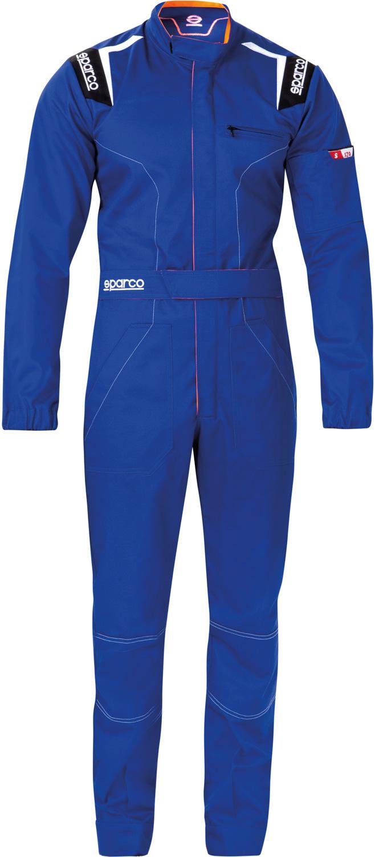 Sparco Mechanikeroverall MS-4, blau