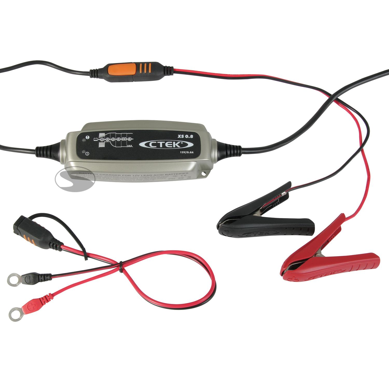 CTEK Batterie Ladegerät XS 0.8 (12V-Gerät)