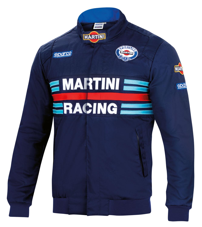 Sparco Jacke Martini Racing, dunkelblau