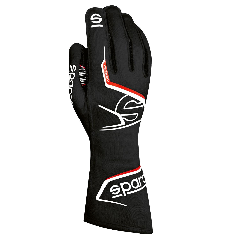 Sparco Handschuh Arrow, schwarz/rot