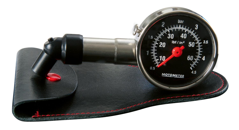 Motometer Luftdruckmesser (Metall-Ausführung)