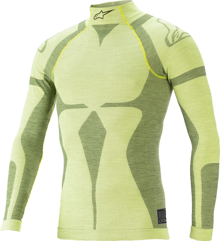 Alpinestars Pullover ZX EVO v2 LS, gelb/fluoro