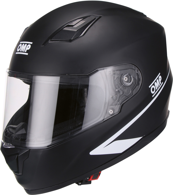 OMP Helm Circuit Evo, schwarz