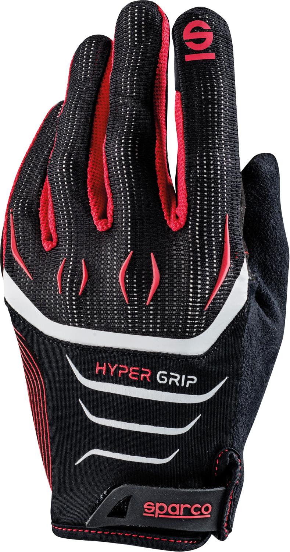 Sparco Gaming Handschuh Hypergrip, schwarz/rot