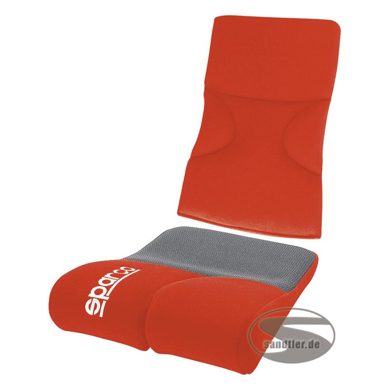 Sparco Sitz-Rückenpolster Evo, rot (1047ER)