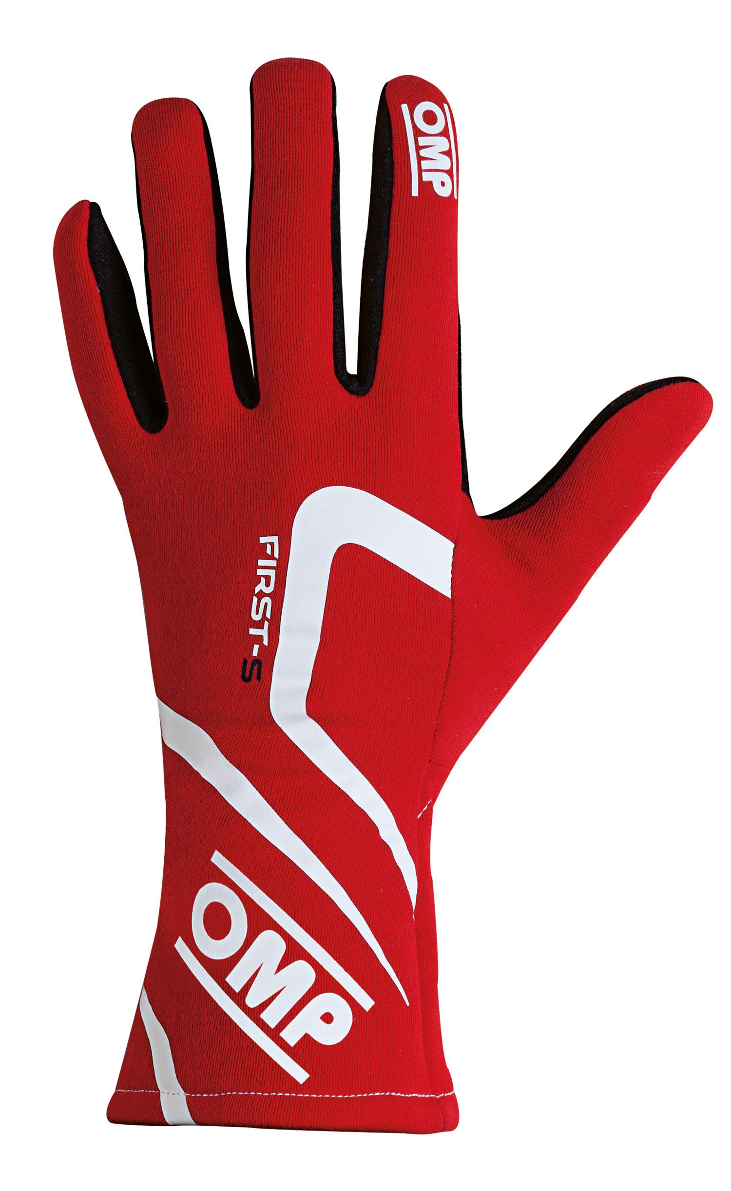 OMP Handschuhe First-S, rot