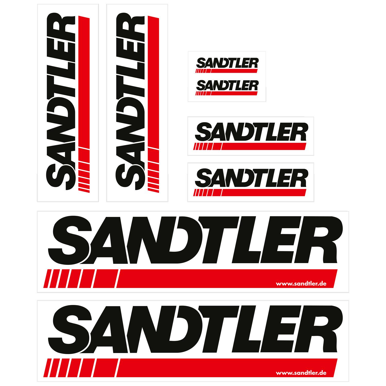 Sandtler Aufkleber-Set