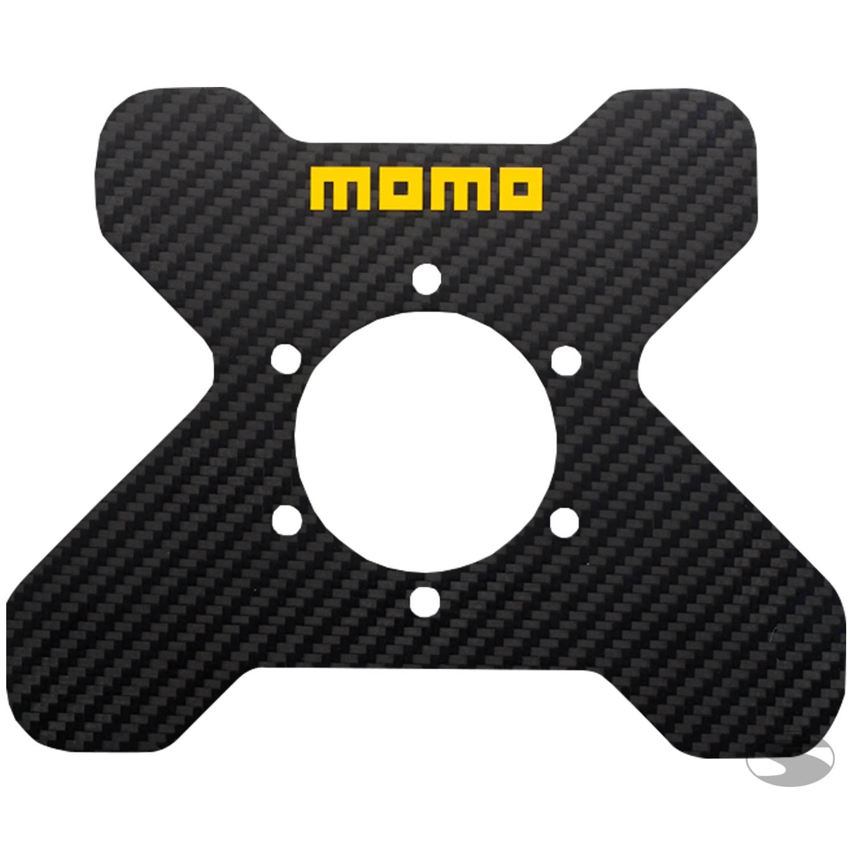 Momo Carbon-Schalterplatte
