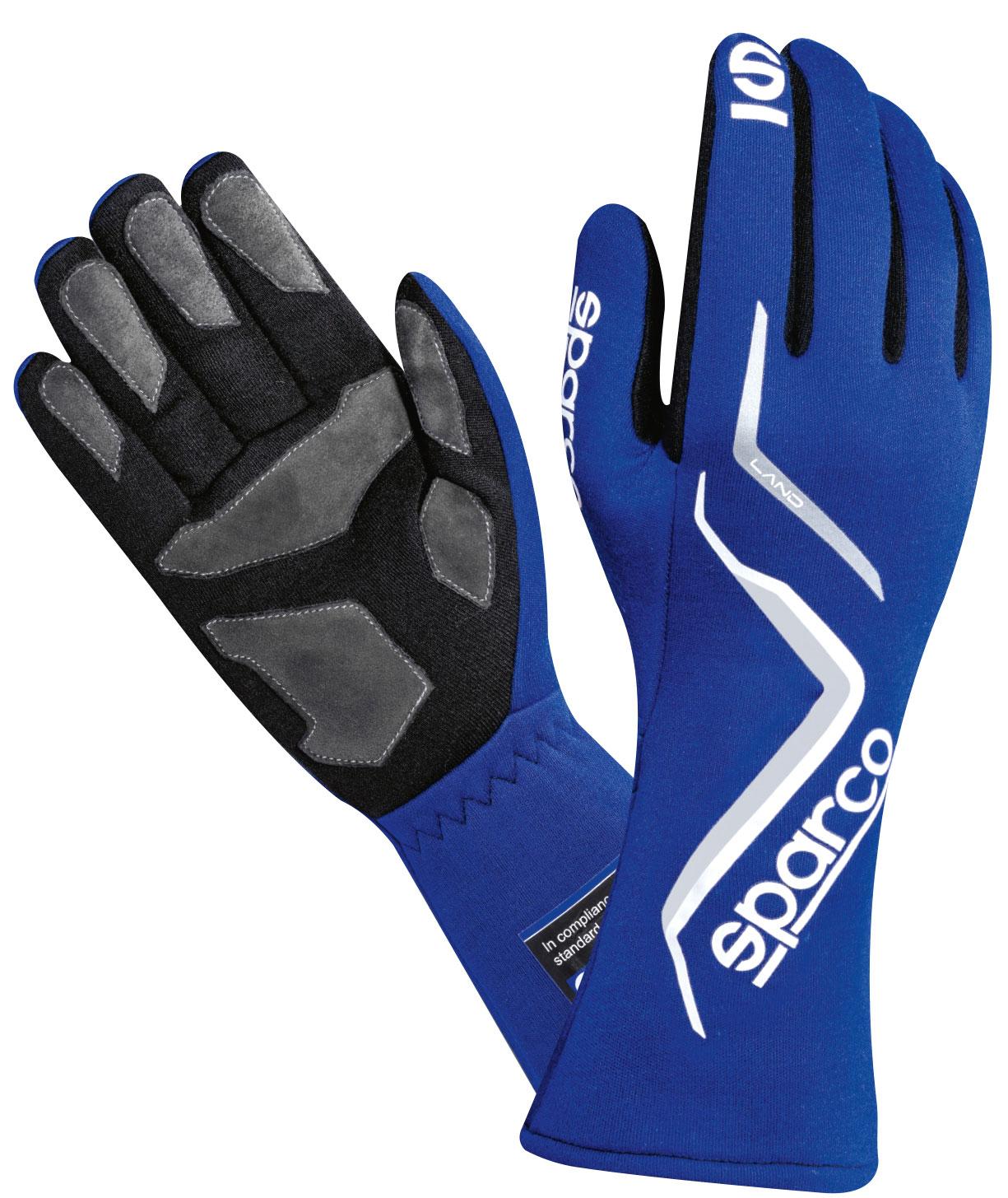 Sparco Handschuh Land, blau