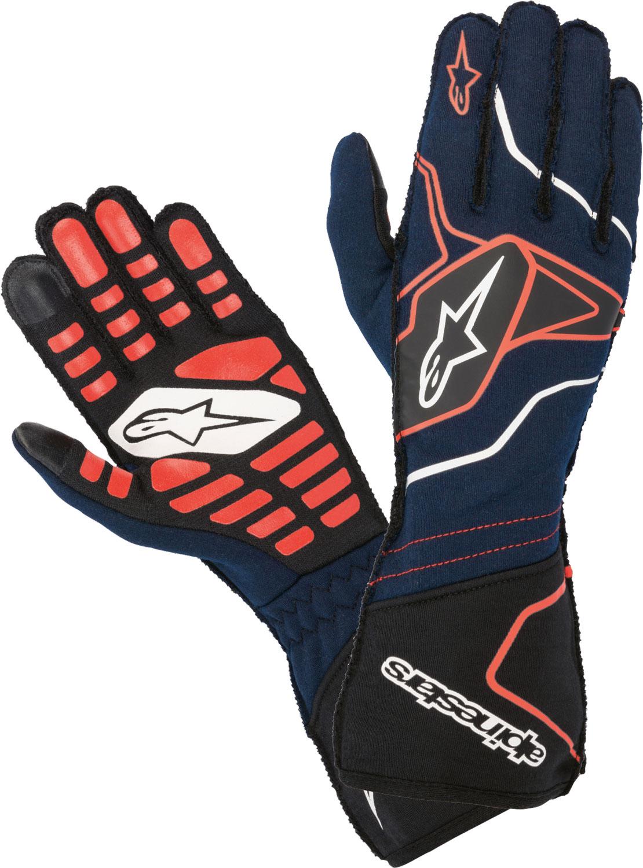 Alpinestars Handschuh Tech 1ZX v2, dunkelblau/rot