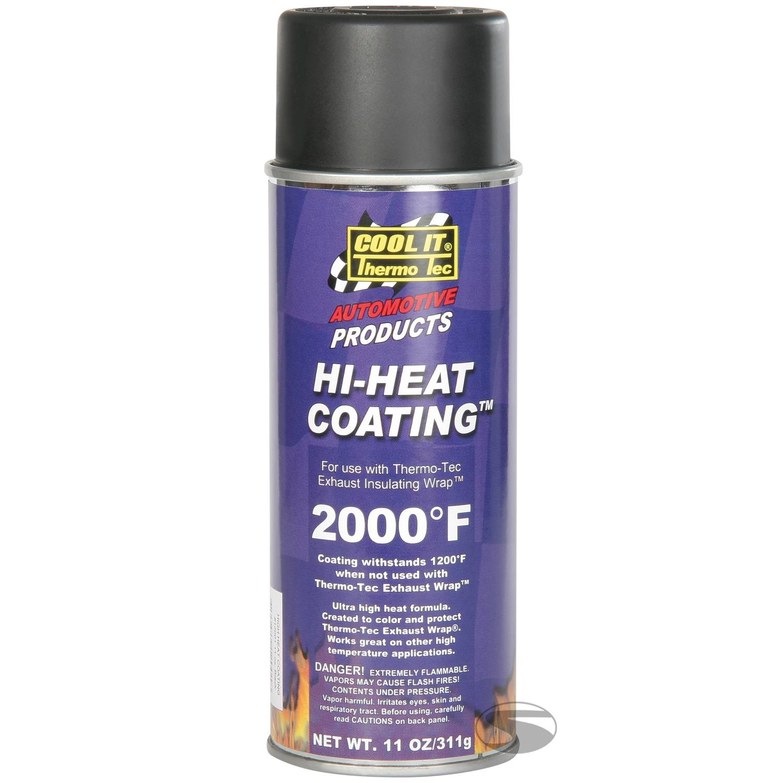 ThermoTec Hi-Heat Coating Spray (schwarz)