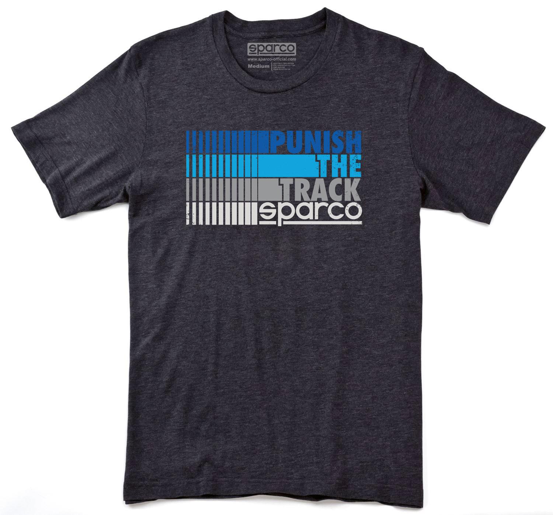 Sparco T-Shirt Punish, schwarz