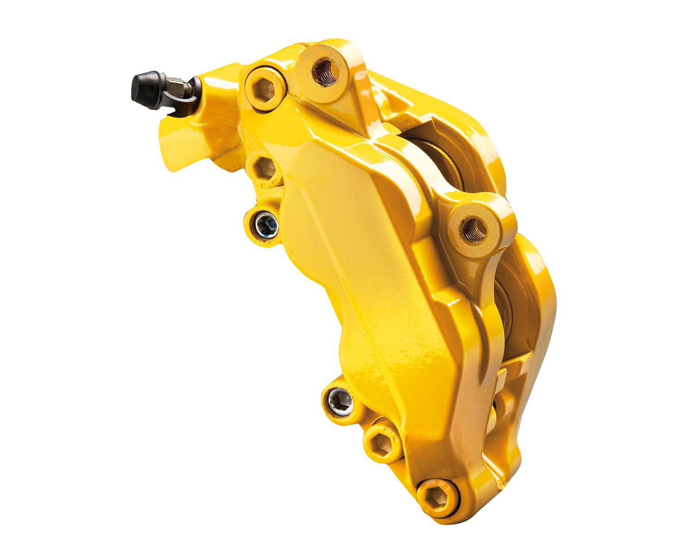 FoliaTec Bremssattellack, performance yellow