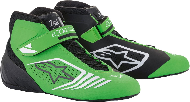 Alpinestars Kartschuh Tech 1KX, grün/schwarz