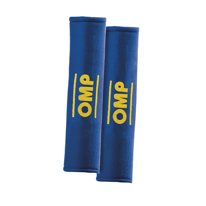 OMP Gurtpolster 2 Zoll, blau