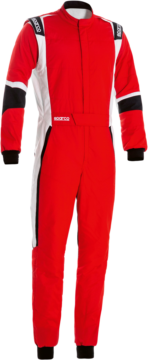 Sparco Rennoverall X-Light, rot