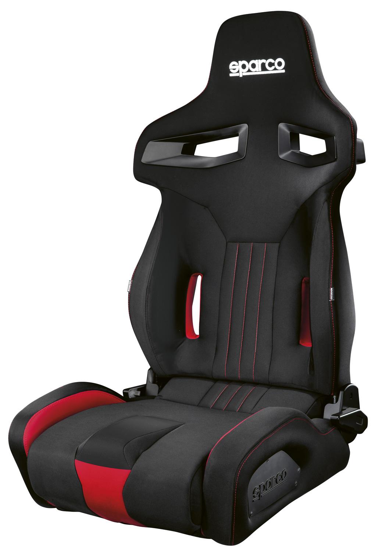Sparco Sportsitz R333, schwarz/rot (2030SR)