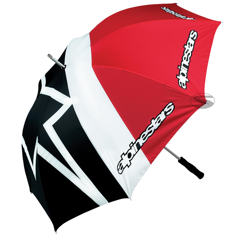 Alpinestars Schirm Umbrella, schwarz/rot