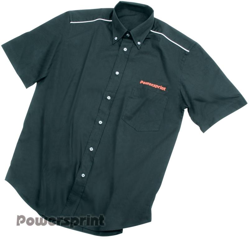 Powersprint Hemd Kurzarm, schwarz